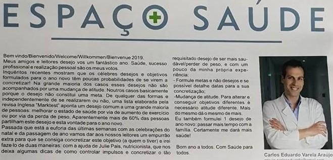 Jornal Póvoa Semanário - Nutrição